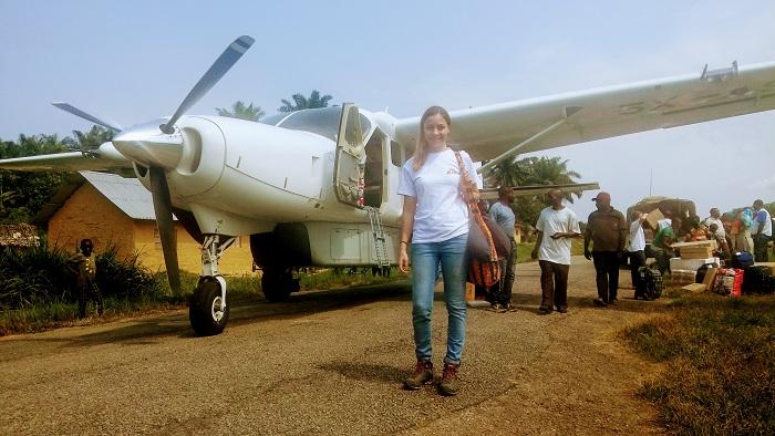 """Ioana Silly, """"farmacista zburătoare"""". La frontiera dintre război și Ebola"""