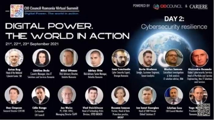 Securitatea cibernetică - pe lista priorităților imediate ale CIO (DAY 2)